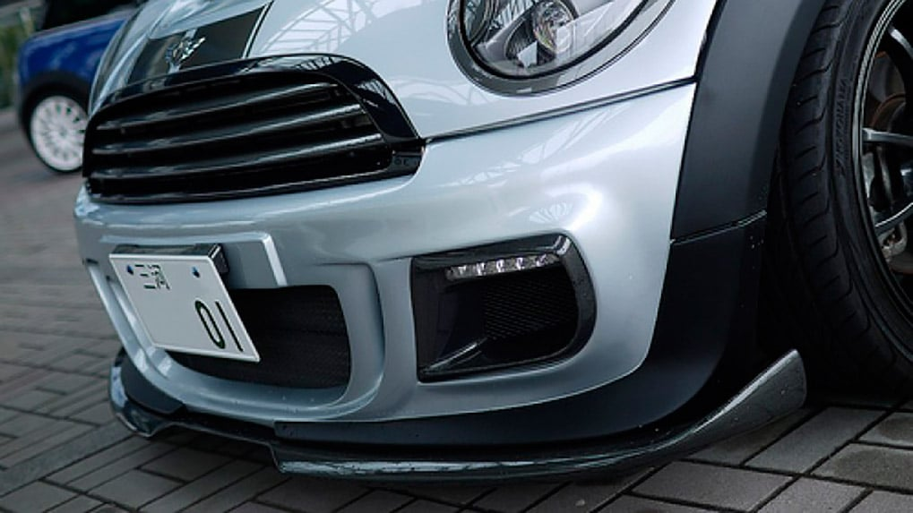 duell ag mini r58 frontbumper krone 1-31