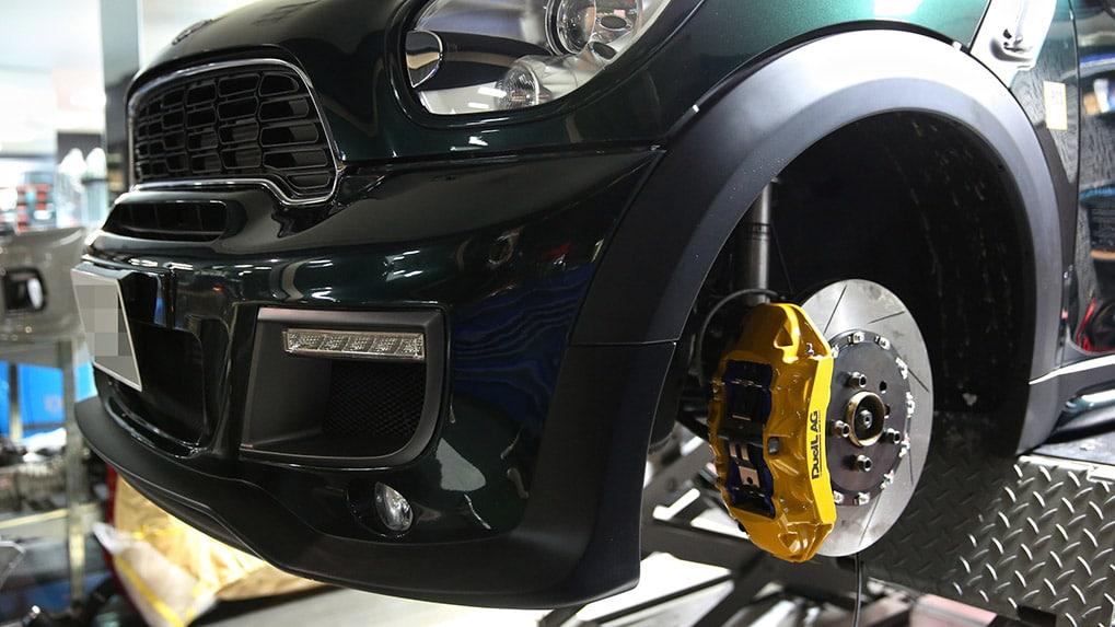 duell ag mini R60 countryman brakes