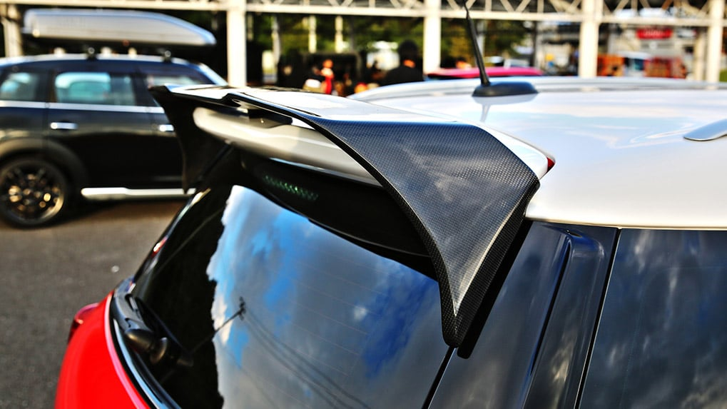 duell ag mini R60 countryman rear wing