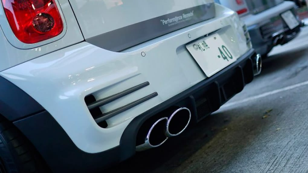 duell ag mini R60 countryman rear bumper