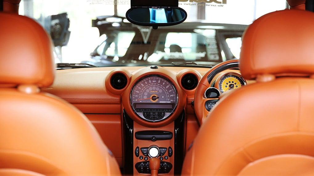 duell ag mini R60 countryman interior