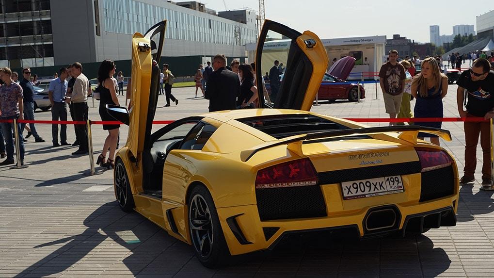 Moscow Super Car Show 2015