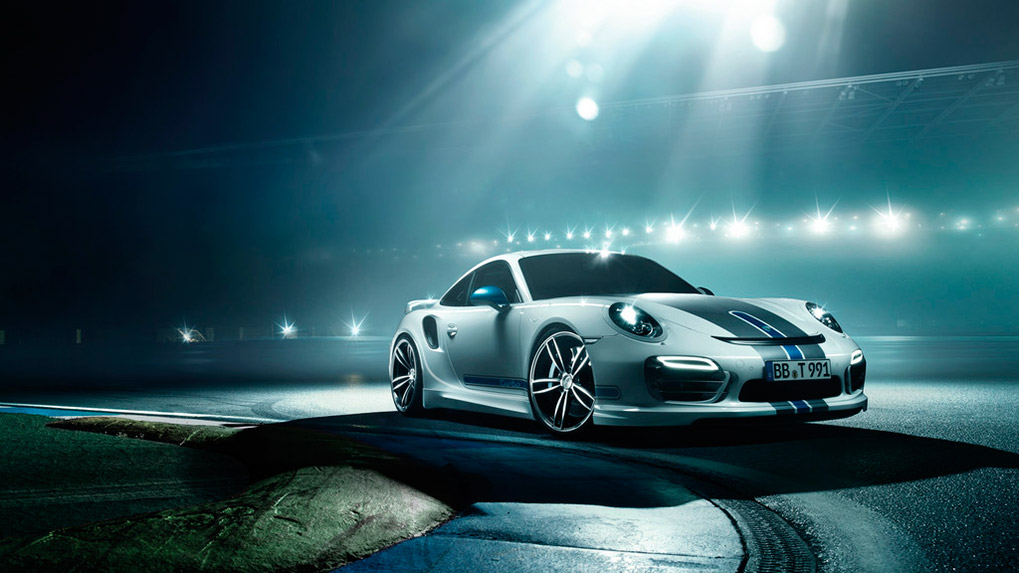 Porsche 991 Turbo Techart Aerokit I