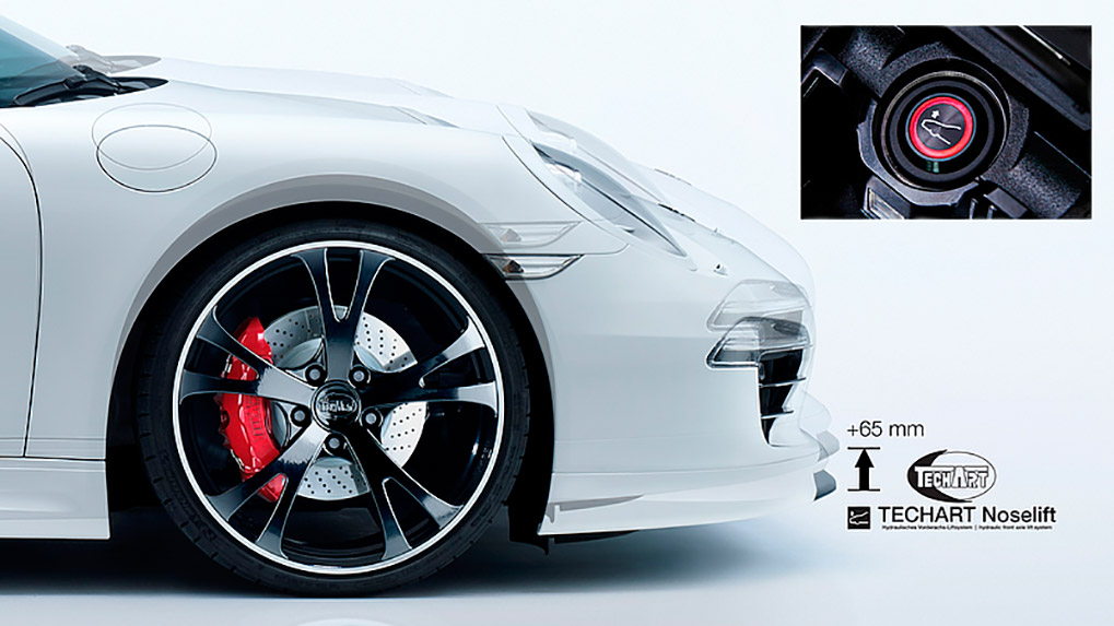 Porsche 991 Turbo Techart Aerokit I HLS system