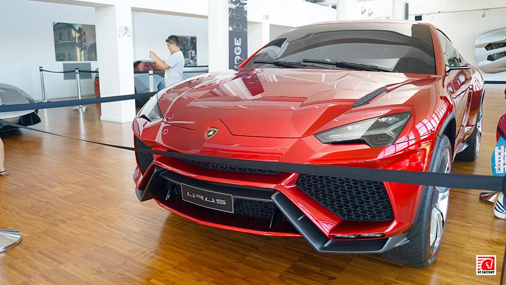 Музей Lamborghini URUS Concept Car