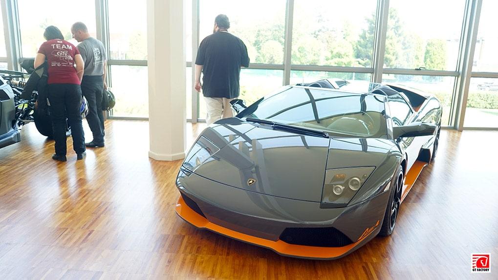 Музей Lamborghini Murcielago Roadster