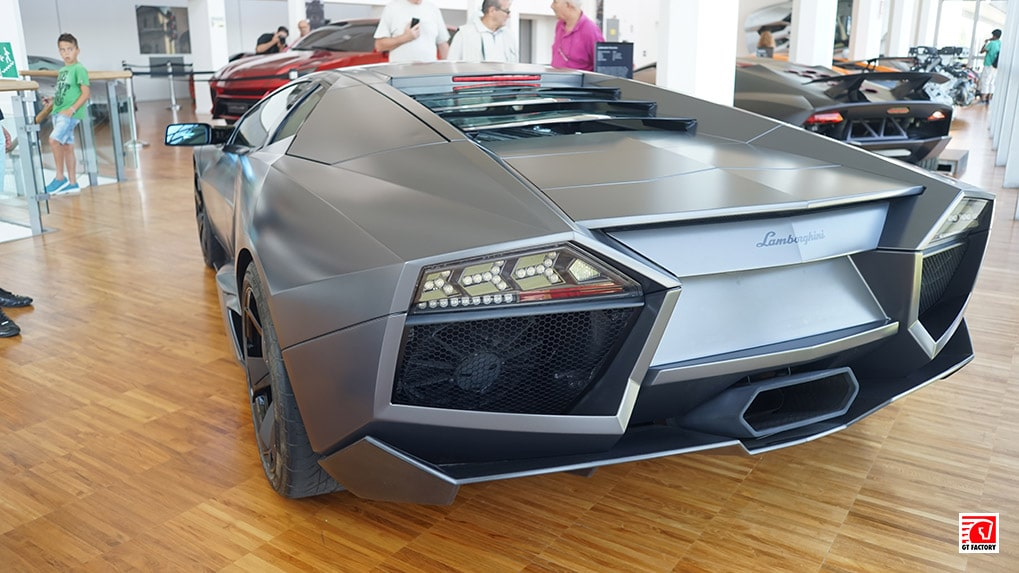 Музей Lamborghini Reventon