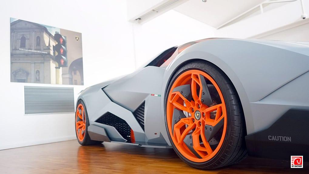 Музей Lamborghini Egoista Concept Car