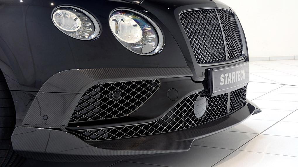 bentley cgtc 2016 startech дополнительные элемены переднего бампера