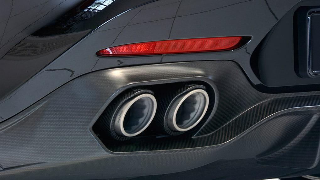 Brabus Mercedes-Benz AMG GT-S titanium exhaust system