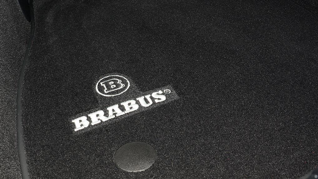 Brabus Mercedes-Benz AMG GT-S floor mats