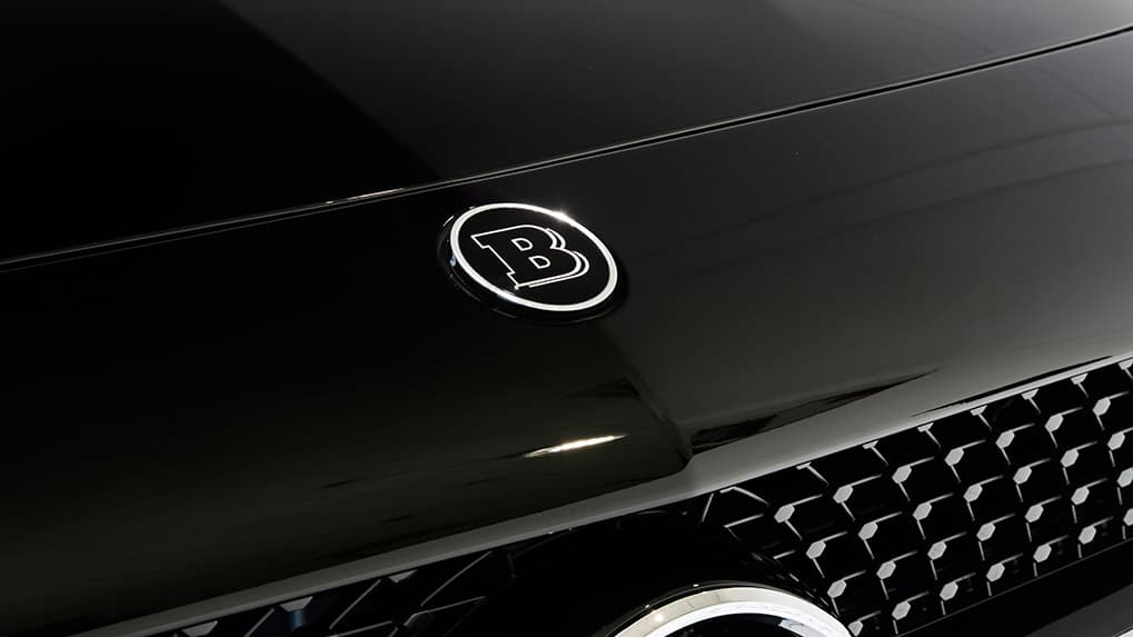 Brabus Mercedes-Benz AMG GT-S front hood logo