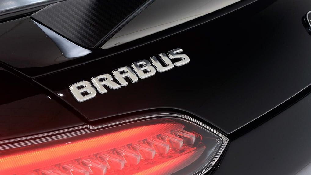 Brabus Mercedes-Benz AMG GT-S rear trunk logo