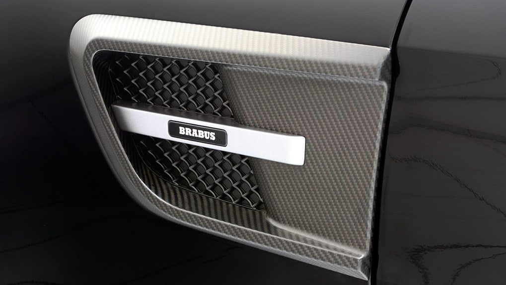 Brabus Mercedes-Benz AMG GT-S front fenders with side vents