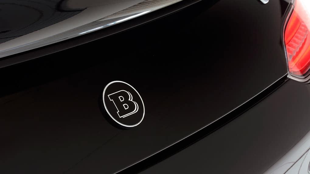 Brabus Mercedes-Benz AMG GT-S trunk logo