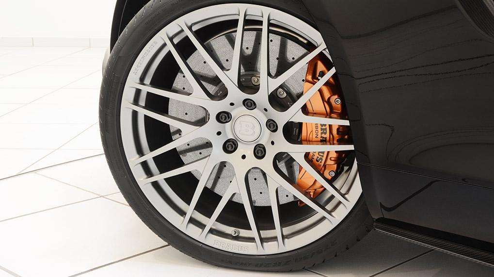 Brabus Mercedes-Benz AMG GT-S monoblock F platinum