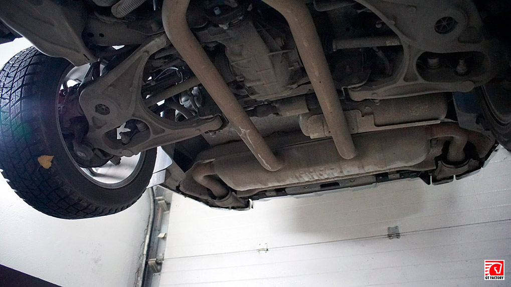 Mercedes-Benz gl63 amg стоковая выхлопная система