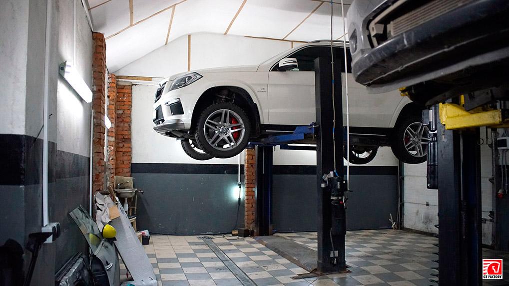 Mercedes-Benz gl63 amg Brabus