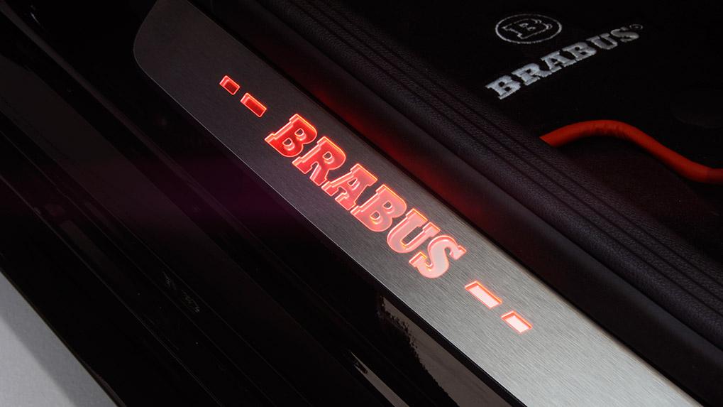 brabus b600 mercedes-benz c63s amg накладки порогов
