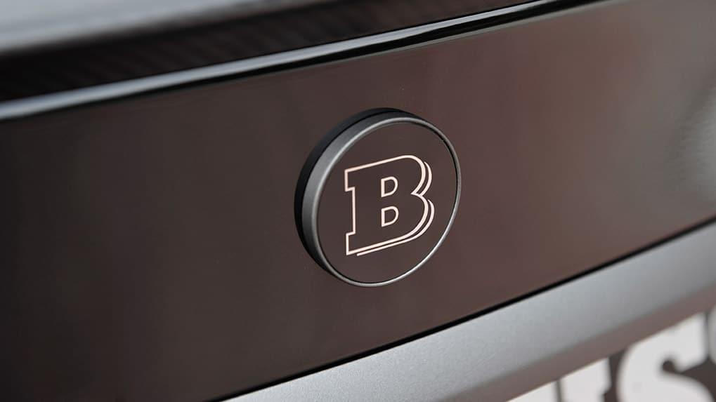 mercedes-benz c63s amg brabus b600 логотип багажника