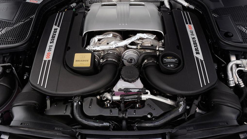 brabus b600 mercedes-benz c63s amg увеличение мощности