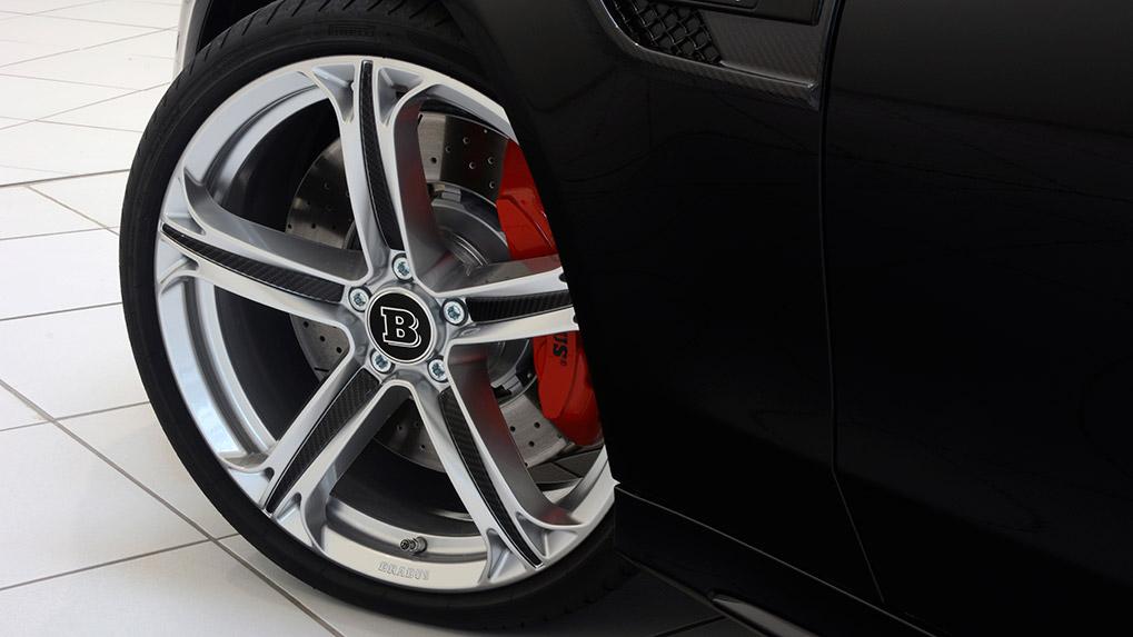 brabus monoblock T wheels c63s