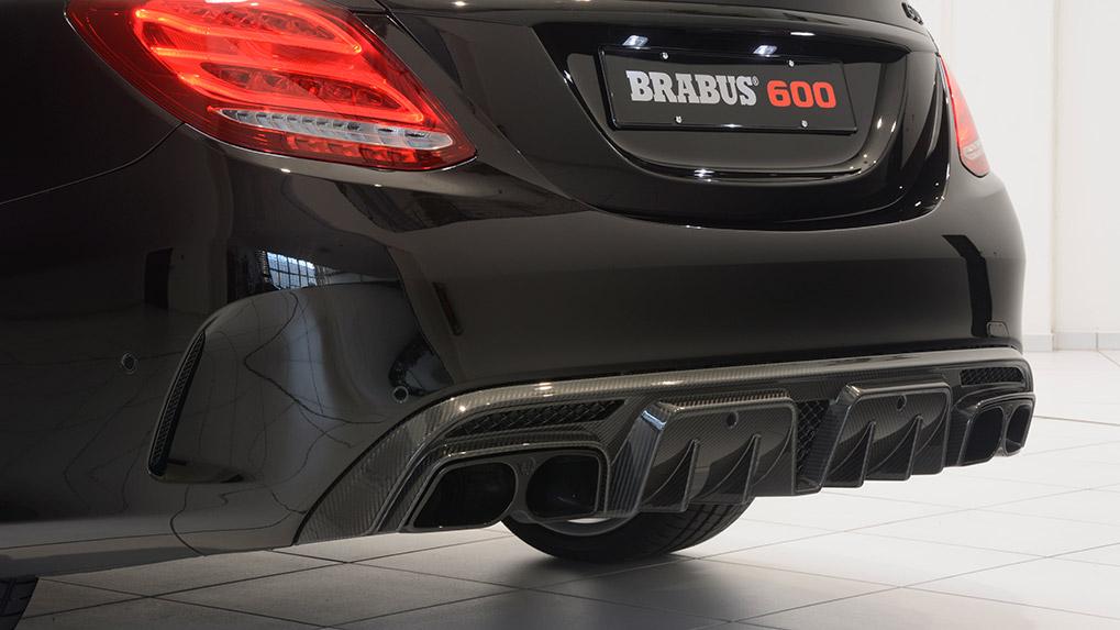 Brabus Mercedes-Benz C63S задний бампер