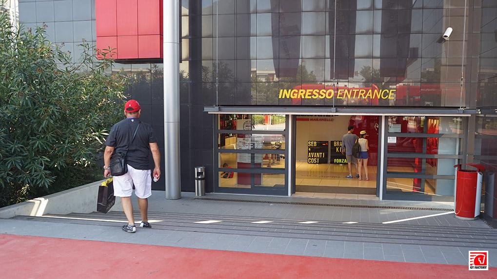 Ferrari Museum вход