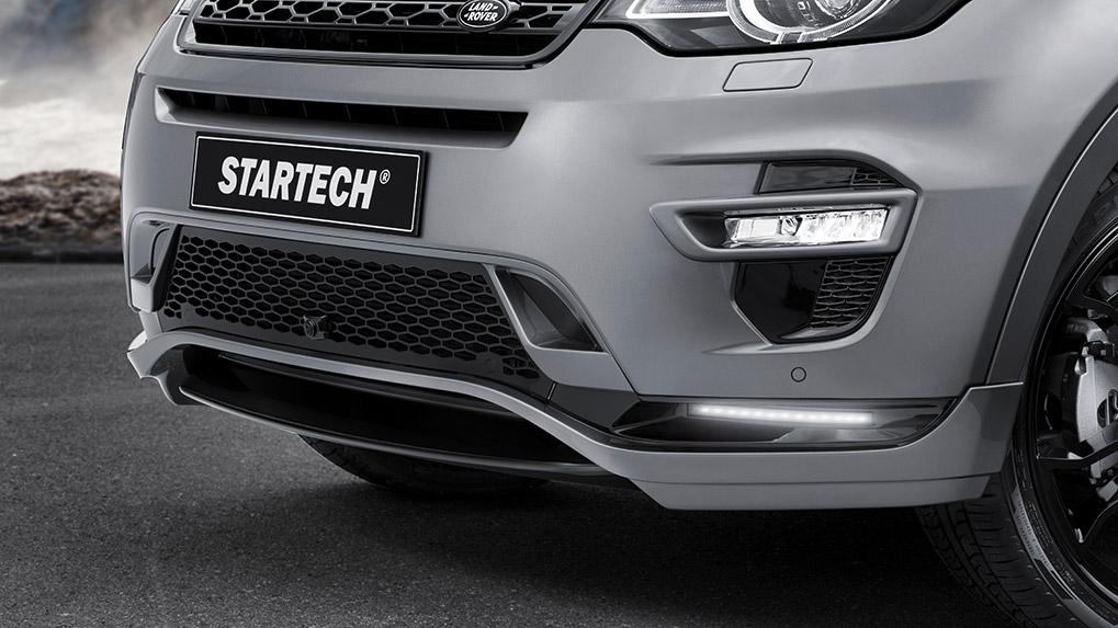 startech discovery sport накладка переднего бампера