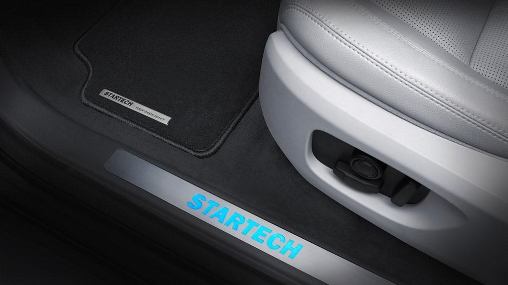 startech land rover discovery sport элементы интерьера педали и накладки проемов дверей