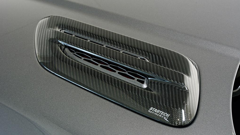 rr sport startech воздухозаборник капота карбон