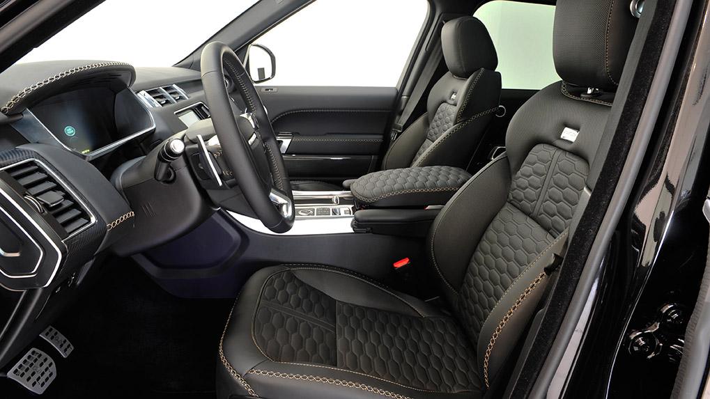 range rover sport startech interior
