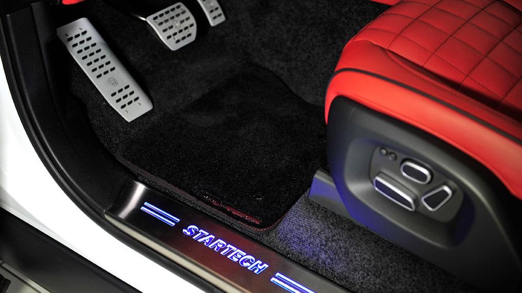 Range Rover интерьер педали и накладки проемов
