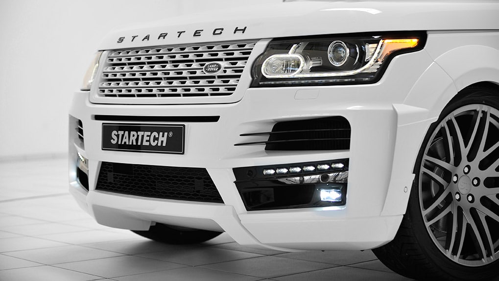 startech range rover 2013 передний бампер