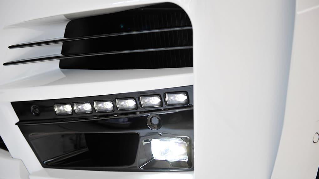 startech range rover элементы переднего бампера