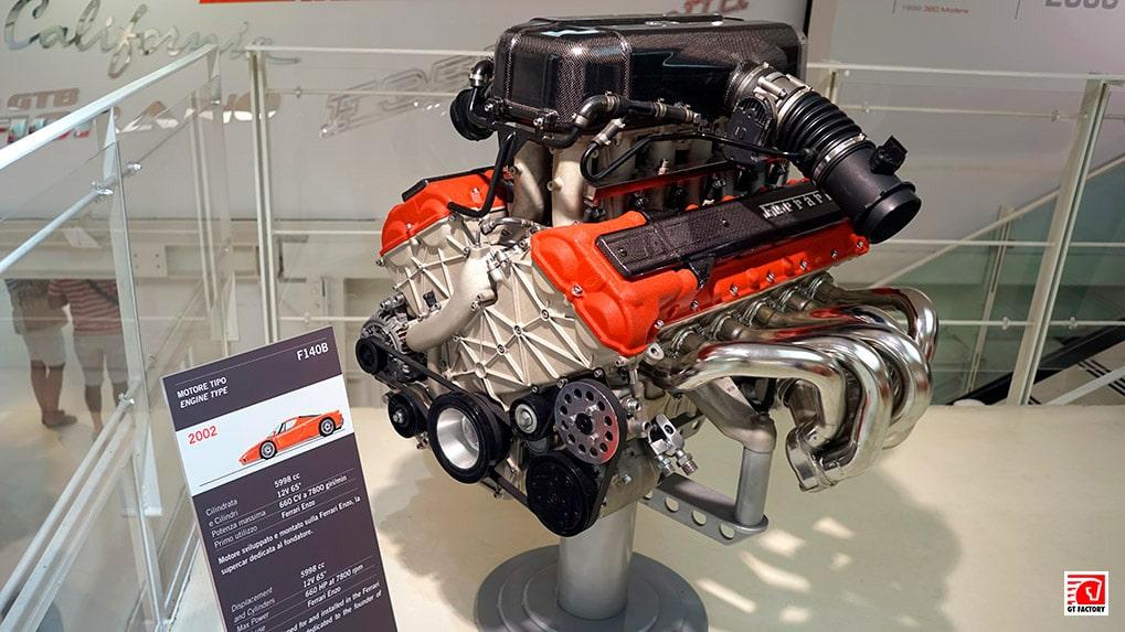 F140B двигатель Ferrari Enzo