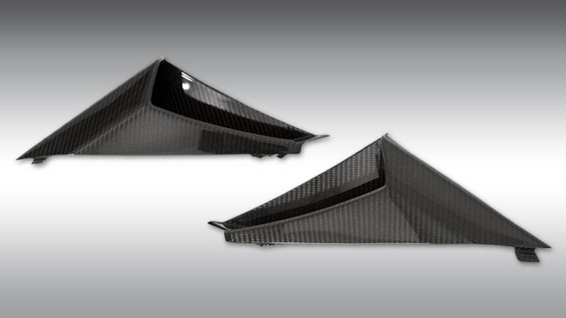 Novitec Lamborghini lp610-4 huracan air intakes side windows