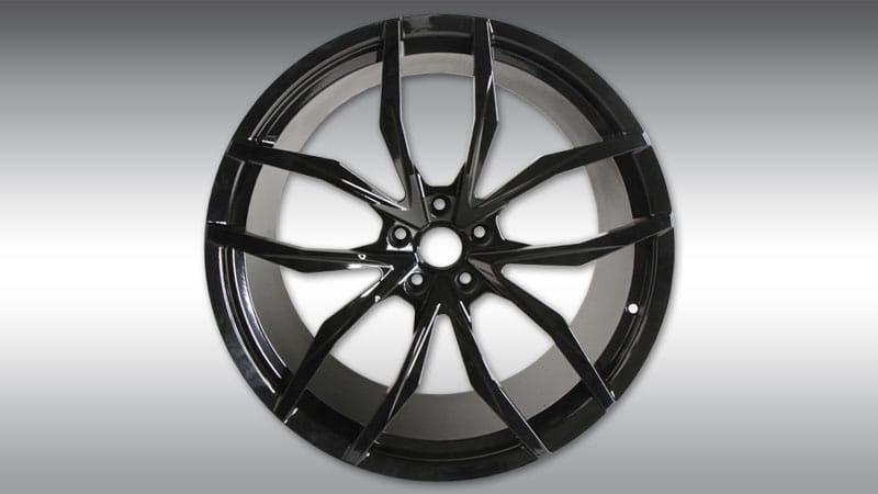 Novitec Lamborghini lp610-4 huracan nl2 forged wheels black
