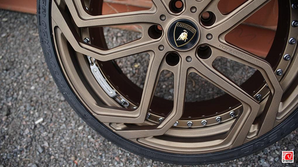 Novitec Torado + ADV1 переднее колесо for Lamborghini LP700-4 Aventador