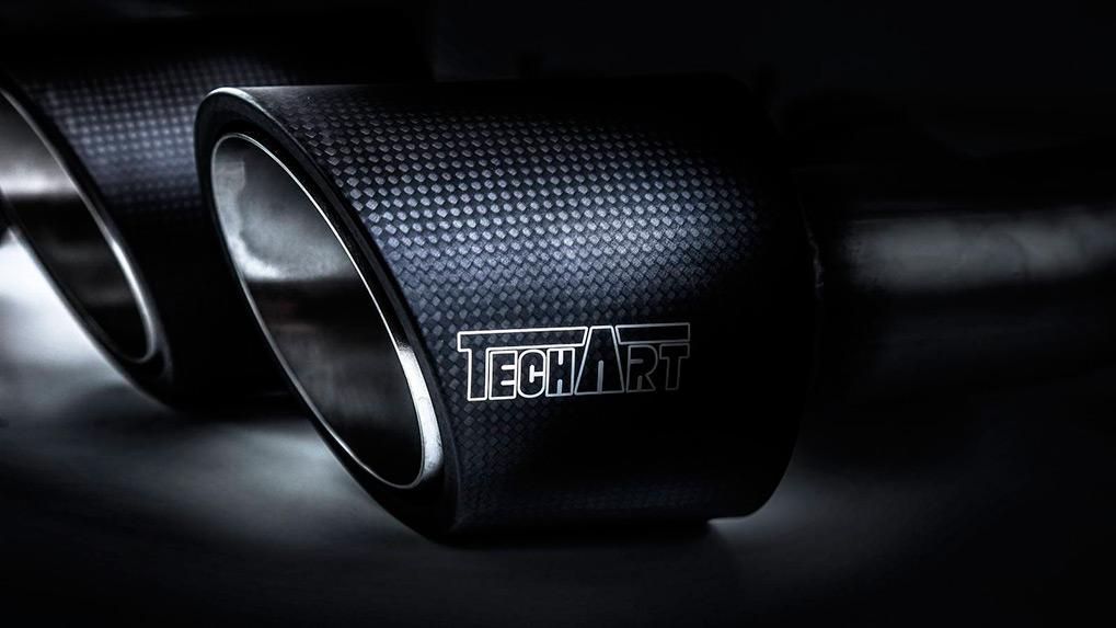Porsche Cayenne 958.2 Techart Magnum выхлопная система