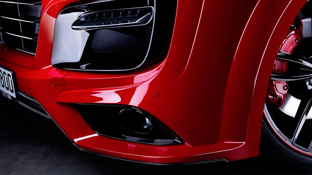 Porsche Cayenne 958.2 Techart Magnum Детали переднего бампера