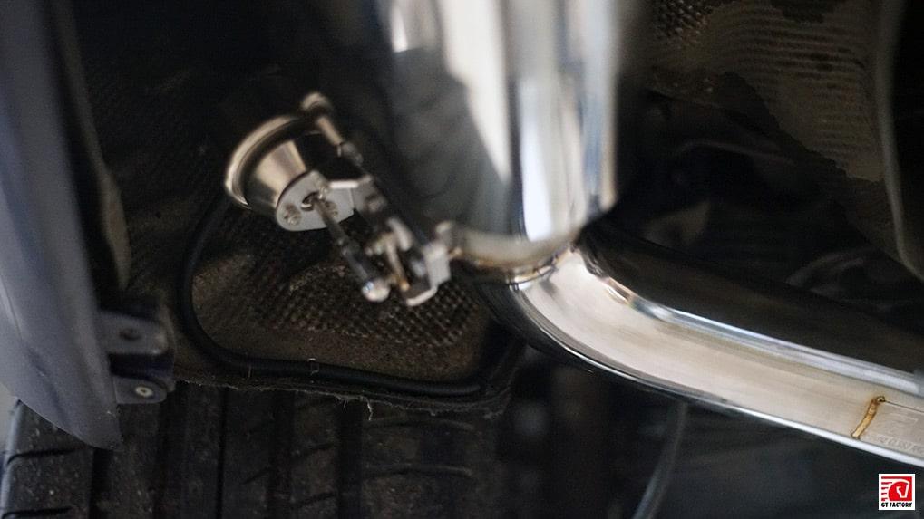 Mercedes-Benz cls63 ipe exhaust on cls500