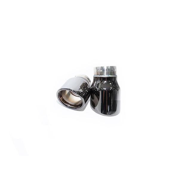 ipe mini cooper s f56 насадки черный хром