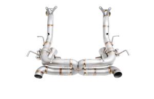 Ferrari 458 Speciale iPE titanium exhaust system