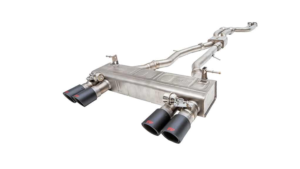 iPE BMW M4 F82 titanium exhaust system