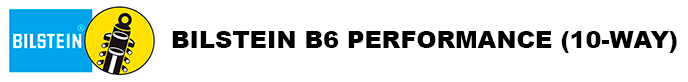 Bilstein B6 10way adjustable