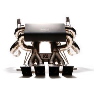 armytrix lamborghini lp750-4 sv valvetronic muffler