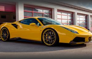 Novitec Rosso Ferrari 488 GTB Spider Suspension