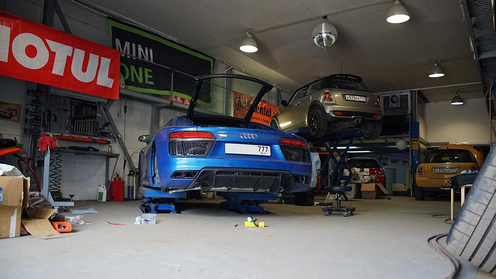 Capristo Audi R8 V10 Plus