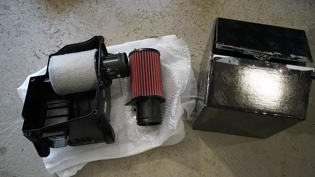 Capristo Audi R8 V10 Plus bmc filters